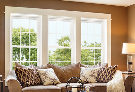 Ultra high quality vinyl windows clevernest for Best quality vinyl windows