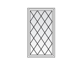 Window Grill Styles Diamond Pattern Grilles Beautifully Complement These Home Styles Sc 1 St